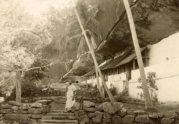 Rock  cut cave temple – Dambulla