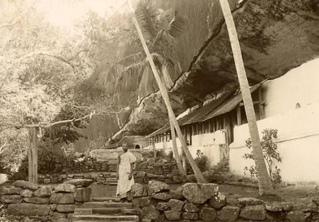 Rock  cut cave temple – Dambulla