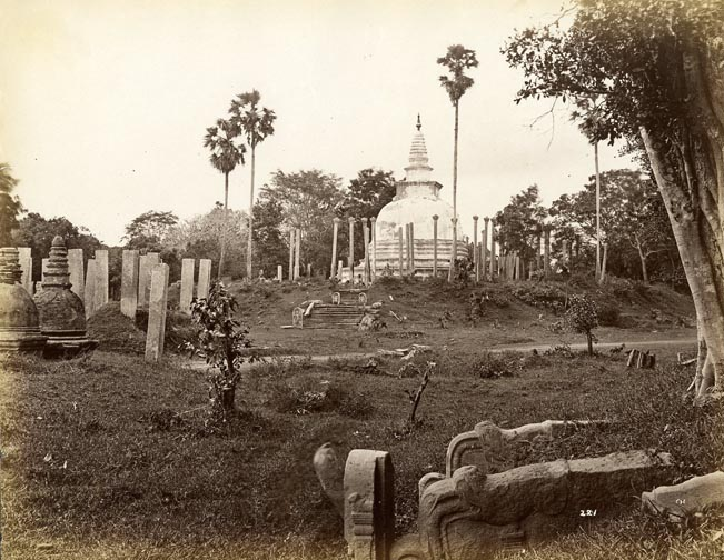 """Thuparama Stupa""- Anuradhapuraya"