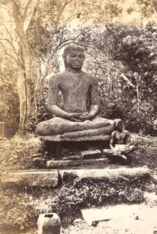 """""""Samadhi Buddha statue"""" – Anuradhapuraya"""