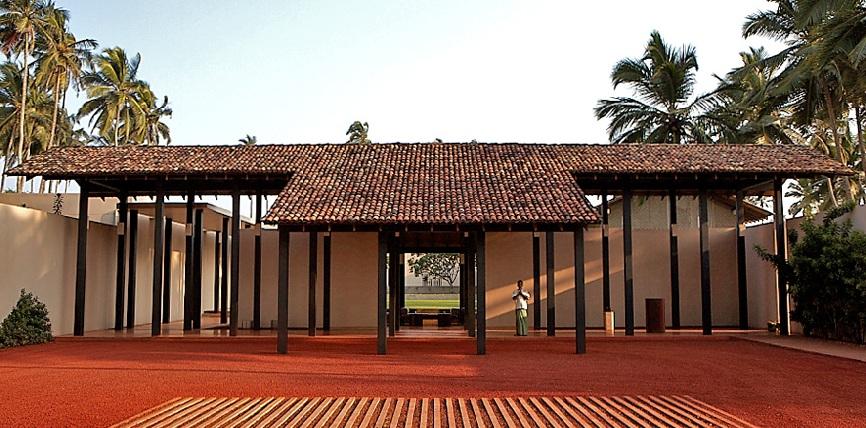 Courtyard at Amanwella