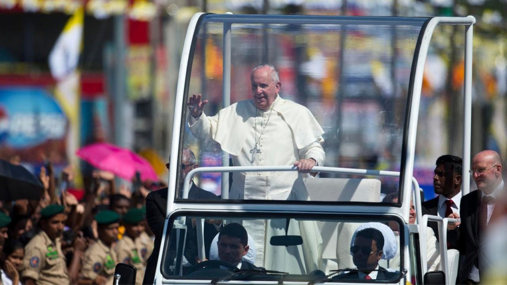 Pope Francis in Sri Lanka